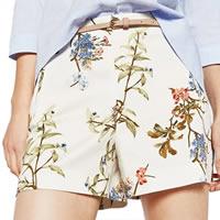 Pantalones cortos de botín de mujer