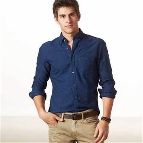 Men Long Sleeve Casual Shirts