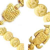 Ox Carved Bone fuqi jewelry