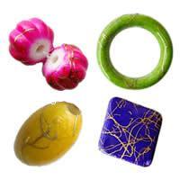 Drawbench Painted Acrylic fuqi jewelry