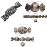 Natural Fossil Agate fuqi jewelry