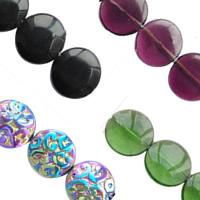 Flat Round Crystal fuqi jewelry