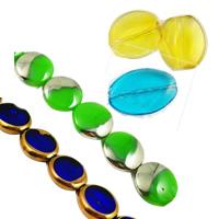 Oval Crystal fuqi jewelry