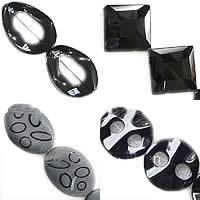 Natural Black Agate fuqi jewelry