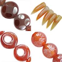 Natural Red Agate fuqi jewelry