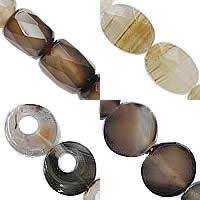 Natural Grey Agate fuqi jewelry