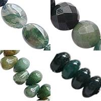 Natural Moss Agate fuqi jewelry
