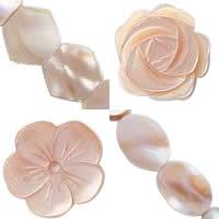 Natural Pink Shell fuqi jewelry