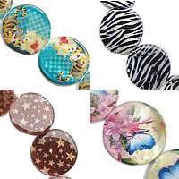 Painted Shell fuqi jewelry