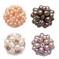 Ball Cluster Cultured Pearl fuqi jewelry