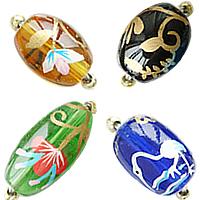 Brushwork Glass fuqi jewelry