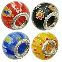 Millefiori Glass European fuqi jewelry