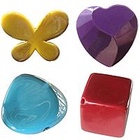 UV Plating Acrylic fuqi jewelry