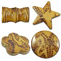 Tiger Skin Acrylic fuqi jewelry