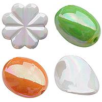 AB color Plated Acrylic fuqi jewelry