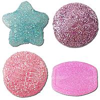Glitter Acrylic fuqi jewelry