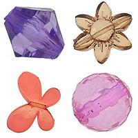 Transparent Acrylic fuqi jewelry