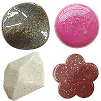 Shining Powder Acrylic fuqi jewelry