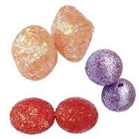 Glitter Plastic fuqi jewelry