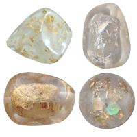Gold Foil & Silver Foil Resin fuqi jewelry