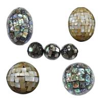 Mosaic Style Shell fuqi jewelry