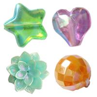 Colorful Plated Plastic fuqi jewelry