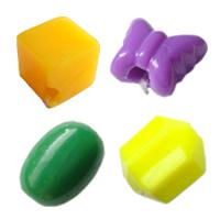 Solid Color Plastic fuqi jewelry