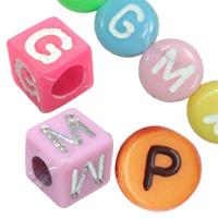 Plastic Alphabet fuqi jewelry