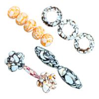 Resin Shell fuqi jewelry