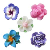 Flower Polymer Clay fuqi jewelry