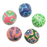 Round Polymer Clay fuqi jewelry