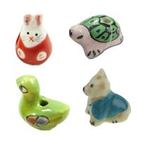 Animal Porcelain fuqi jewelry