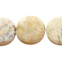 Chrysanthemum Stone Bead