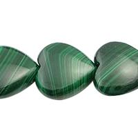 Malachite Ruby Zoisite Bead
