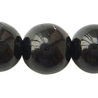 Coal Quartz Stone Bead