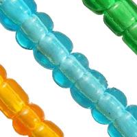 Transparent Glass Seed fuqi jewelry