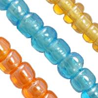 Transparent Lustered Glass seed fuqi jewelry