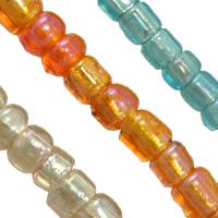 Silverlined S.H.Rainbow Glass Seed fuqi jewelry