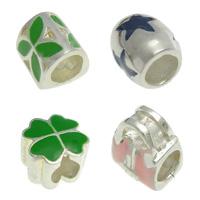 Enamel Sterling Silver European fuqi jewelry