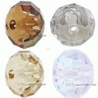 CRYSTALLIZED™ 5041 Crystal Large Hole Rondelle Bead