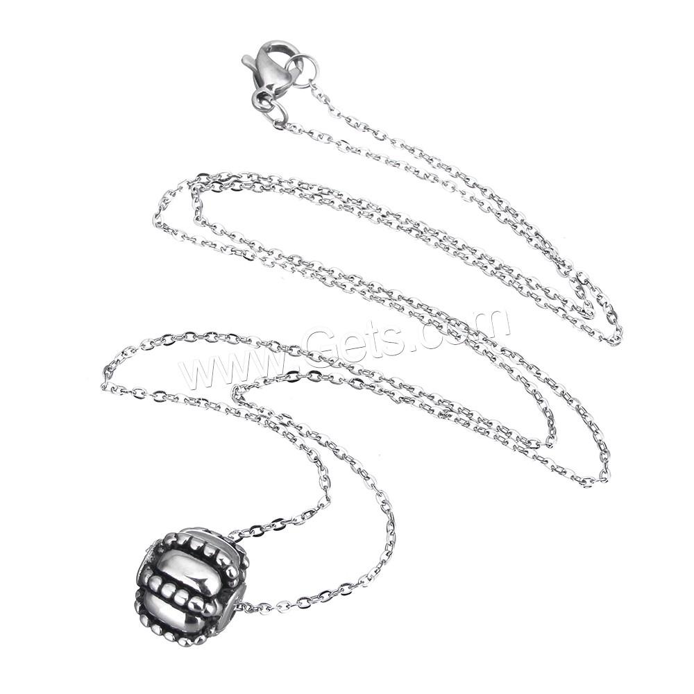 edelstahl schmuck halskette oval kette f r frau schw rzen l ca 18 zollinch verkauft von. Black Bedroom Furniture Sets. Home Design Ideas