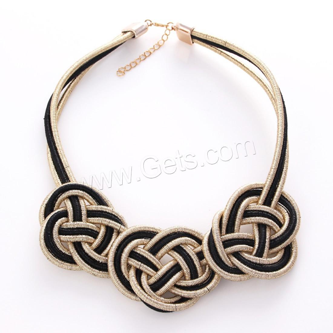 no 9ct Oro Blanco Cadena Collar De Seguridad//Extensión-con anillo de Perno 7cm-chatarra