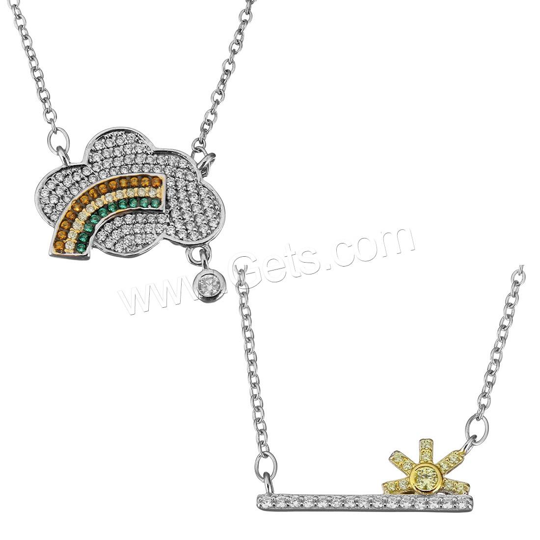 e8dc22dd89de Collar de plata circonita