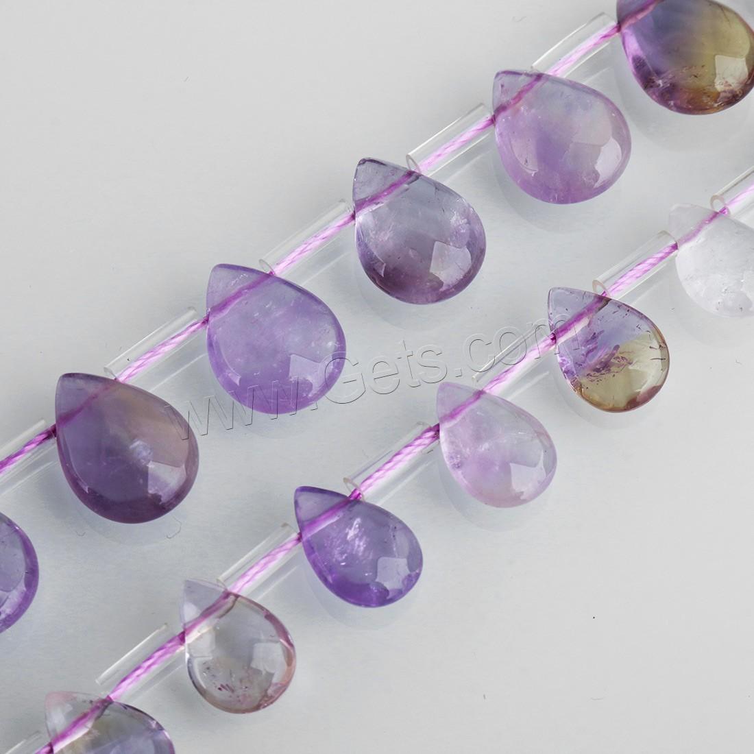 mix color quartz beads ametrine teardrop getscom