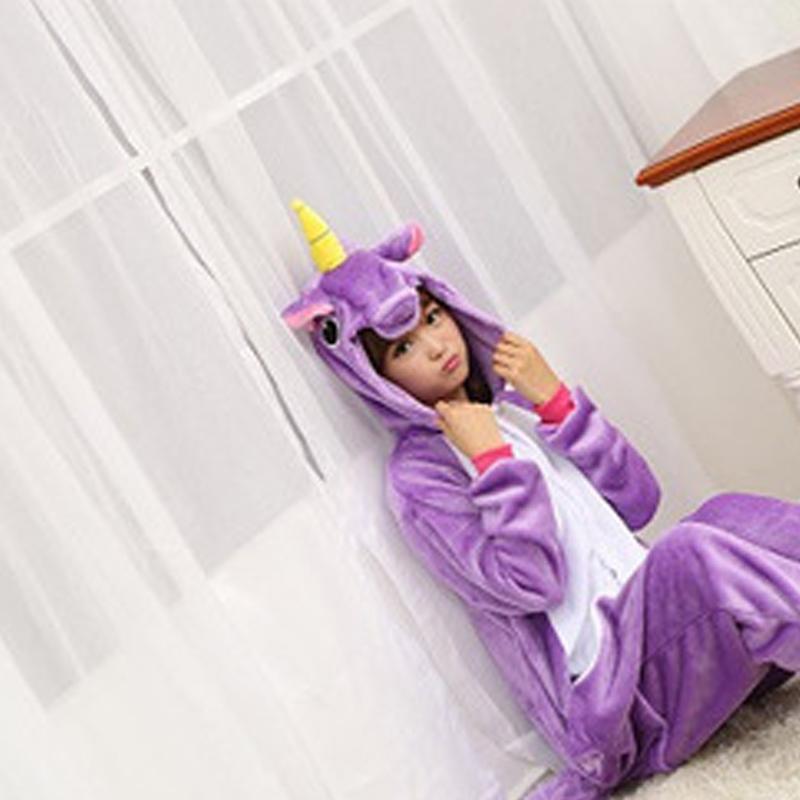 Purple sky horse