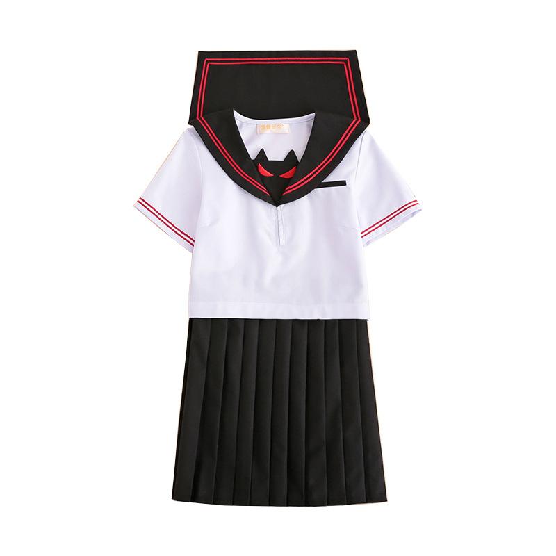 short sleeve Short skirt