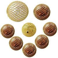 Brass Woven fuqi jewelry