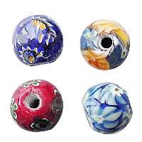 Italian Millefiori Glass fuqi jewelry