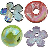 Colorful Plated Porcelain fuqi jewelry