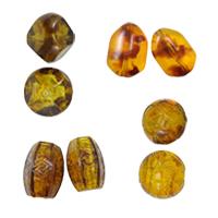 Imitation Amber Acrylic fuqi jewelry
